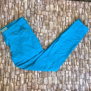 EXPRESS Blue Stretch Jeans